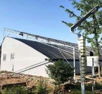 厂家支持定制蔬菜水果温室大棚 连栋薄膜温室 日光温室建造