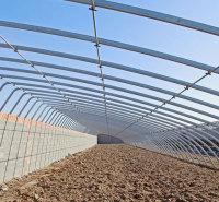 潍坊日光温室暖棚承建  日光薄膜温室建造 蔬菜种植温室安装