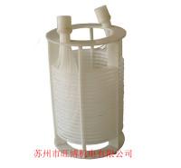 耐腐蚀耐酸碱铁氟龙毛细管换热器 四氟换热器