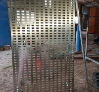 带方管锁墙瓷砖挂板 铁板材质展示架 陶瓷样品展架专业定制