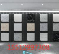 挂瓷砖铁板展示架 展具样品铁板展架 墙面铁质板装饰架