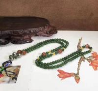 和田碧玉作品 佛珠项链 可做项链 毛衣链 手串