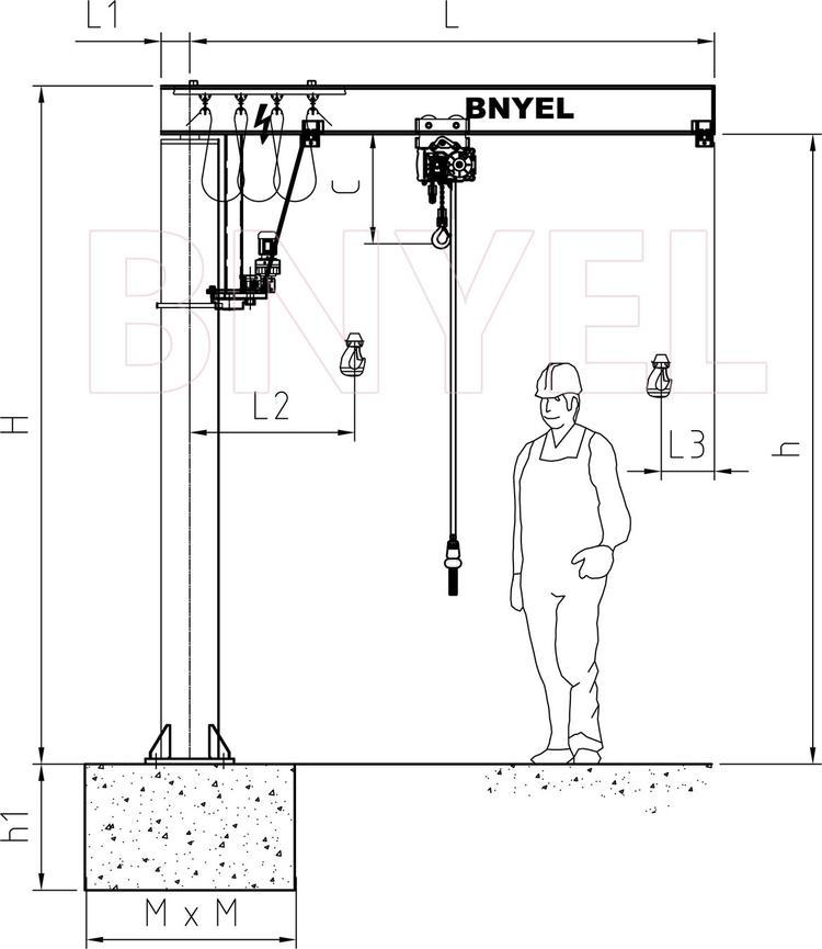 1电动悬臂吊11-Model