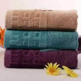 家庭装双面绒加厚纯棉洗脸毛巾