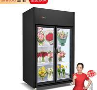 风冷鲜花柜 鲜花保鲜展示柜 金偌定制鲜花 植物陈列展示柜