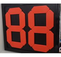 换人牌 手动换人号码牌 2位数可翻变数字 足球换人牌