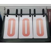 新鲸加厚钢板三位数记分牌 三位数多功能篮球计分牌