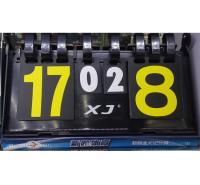 新鲸软壳记分牌 计局计分 足球乒乓球比赛四位翻页记分牌 竞赛计分牌
