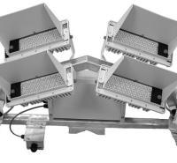 体育场室内照亮 led光源组成光学和散热设计 可定制LED升降式高杆灯 广场灯体育馆球场灯