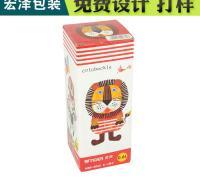 台州礼品盒宏泽包装纸盒长方形带天窗便携式精品盒可定制彩印纸盒