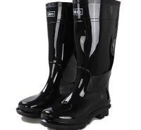 回力(Warrior) HXL-838 44码 高筒雨鞋 黑色(单位:双)