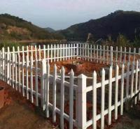 绿化带护栏 园林草坪护栏 pvc 草坪护栏定制就选禾迈质量上乘口碑推荐