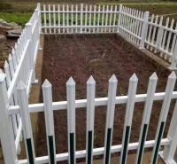 绿化带护栏 京式护栏 pvc 草坪护栏定制就选禾迈质量上乘口碑推荐