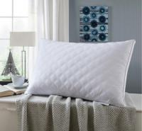 床上用品 五星级枕心纯棉绗缝立体双边枕芯 高弹中高枕单只装枕头
