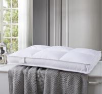 床上用品 新品日式水洗纯棉枕心 羽丝绒枕芯 中低方块酒店立体枕头超柔护颈
