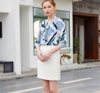 金蝶茜妮女装招商加盟 广州女装厂家货源 时尚女装品牌代理