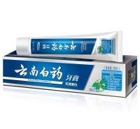 牙膏 云南白药 冬青香型 135g 牙膏