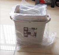 高档垃圾桶 米色垃圾桶 厨房三分类垃圾桶 可移动塑料垃圾桶 厂家批发