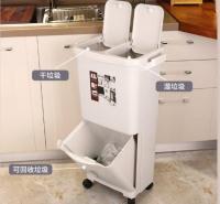 郑州亿宝源  垃圾桶  塑料分类垃圾桶  时尚垃圾桶  双层分类垃圾桶  厂家批发