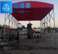 伸缩雨篷 陕西鑫盛泰钢结构有限公司 耐用 陕西鑫盛泰钢结构 供应 西安