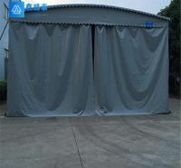 伸缩雨篷 陕西鑫盛泰钢结构有限公司 靠谱 布 厂家 西安