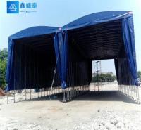 伸缩雨篷 陕西鑫盛泰钢结构有限公司 耐用 布 批发 西安