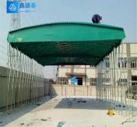 伸缩雨篷 陕西鑫盛泰钢结构有限公司 质量好 暂定 批发 西安