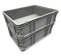 黑色塑料箱 防静电零件盒 防静电周转箱 塑料周转箱 周转箱