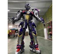 变形金刚模型玩具 成都机器人租赁   大型机器人模型租赁公司 喜乐迪游乐设备