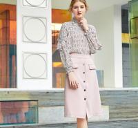 秋季时尚休闲套装 金蝶茜妮广州女装品牌加盟 休闲女装品牌