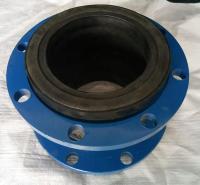 吉佳可曲挠橡胶接头耐酸耐碱耐油定制法兰式橡胶软连接头厂家现货批发