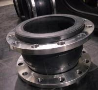 吉佳304不锈钢法兰波纹管补偿器高压法兰波纹膨胀节橡胶软接头