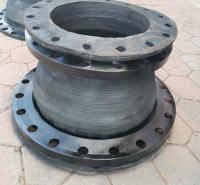吉佳耐酸碱翻边式缠绕橡胶软接头耐高温电厂脱硫管线用膨胀节定制