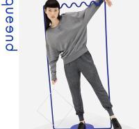淳度家居服2020年秋冬季节睡衣可出门宽松套装女士棉质慵懒居家服