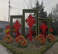 制作仿真绿雕厂家  荷花绿雕 绿雕动物 植物绿雕墙