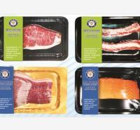 生鲜产品 牛羊肉 大肉 真空贴体皮肤包装盒 真空贴体皮肤包装膜 厂家定制