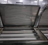 蒸煮线全自动蒸煮流水线连续网带式蒸汽流水线蒸线 蒸汽加热肉条蒸线 鱼豆腐蒸汽隧道