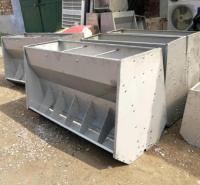 锐达 大三孔猪槽模具 水泥食槽模具 猪槽模具厂家
