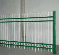 锌钢护栏 厂家定制金属喷塑河道小区湖边防护用锌钢护栏 鼎尊丝网