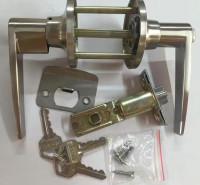 三柱式球锁 彩钢板门锁  净化车间把手锁