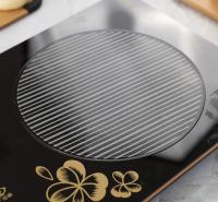 工厂直销 食品级硅胶玻纤电磁炉垫  耐高温防滑垫