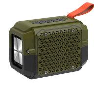 便携式户外运动型按键蓝牙音响 蓝牙音箱HB-P18  防水防尘