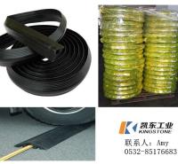 橡胶电缆套 电缆遮瑕通道管 大孔径橡胶电缆保护套  可裁剪落地线PVC保护器