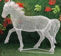 不锈钢雕塑 玻璃钢雕塑 永义 灯光雕塑 不锈钢雕塑 定制 庭院造景雕塑