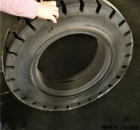 厂家供应农业拖车用配件   实心轮胎  L-5S压配式实心轮胎