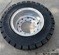 厂家销售拖车用实心轮胎   小型装载机半实心轮胎  欢迎询价