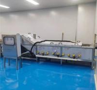 自动化蔬菜漂烫机 多规格南瓜预煮机 流水线式马兰头杀青生产线设备商