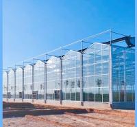 甘肃温室原材料厂家 连栋玻璃智能温室大棚大棚厂家 齐阳承建