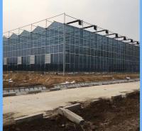 西藏玻璃温室大棚 扶持项目连栋智能玻璃温室