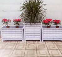 花箱户外 小区市政景观花箱定制  成品组合花箱   和家悦供应